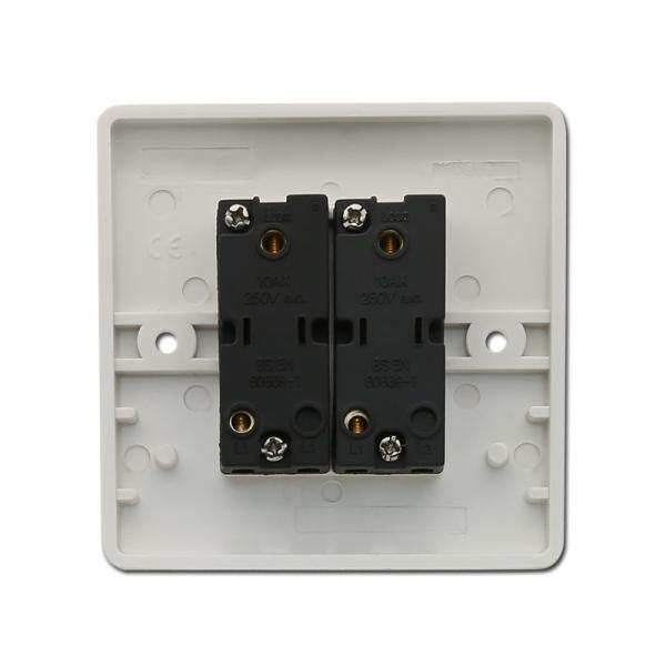 Bakelite Plate Uk Standard 2 Gang 2 Way Switch Electric